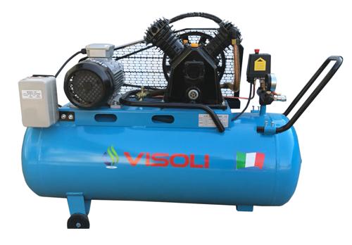 Compresor Aer Visoli 100 L - 10Bar - Profesional 220/380V