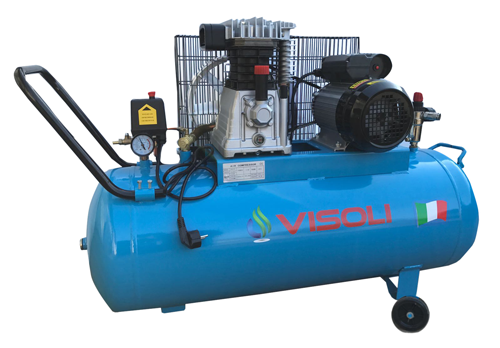Compresor Aer Visoli 100 L - 8Bar - Profesional