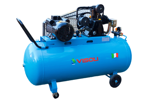 Compresor Aer Visoli 200 L - 10Bar - Profesional 220/380V
