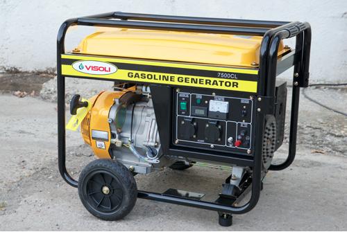 Generator Electric Benzina Visoli VSLT-7500CL-3 -Trifazic