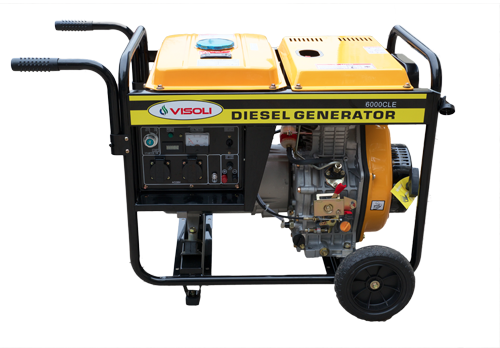 Generator Diesel Visoli LDG-6500LE - Monofazic